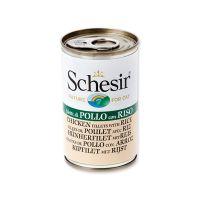 Konzerva SCHESIR Cat kuřecí + rýže (140g)