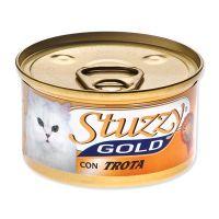 Konzerva STUZZY Cat Gold pstruh (85g)
