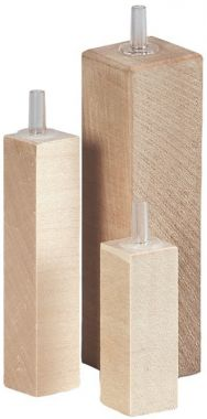 Kostka dřevěná vzduchovací 9 cm