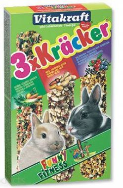 Kracker Rabbit Vegetables + Nuss + Fruit   (3ks)
