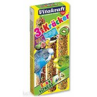 Kracker Sittich Banana + Kiwi + Fig   (3ks)