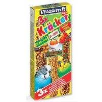 Kracker Sittich Honey + Egg + Fruit   (3ks)