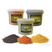 Krmítková směs - kbelík - 5,2 l/jahoda-citrus (červená)