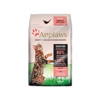 Krmivo APPLAWS Dry Cat Chicken & Salmon (400g)
