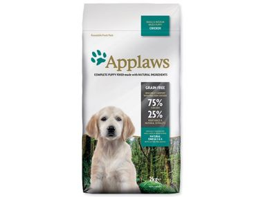 Krmivo APPLAWS Dry Dog Chicken Small & Medium Breed Puppy 2 kg ()