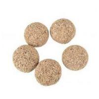 Kuličky korkové, 10 mm, 10 ks