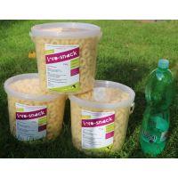 Loro-snack máta - zelený ječmen  5 litrů