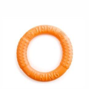 Magic Ring oranžový 17 cm, odolná hračka z EVA pěny