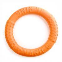 Magic Ring oranžový 27 cm, odolná hračka z EVA pěny