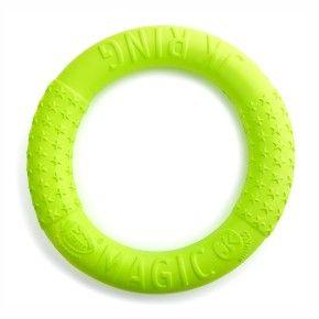 Magic Ring oranžový 27 cm, odolná hračka z EVA pěny - kopie