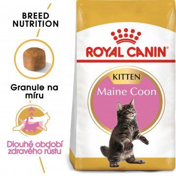 Royal Canin Maine Coon Kitten granule pro mainská mývalí koťata 2kg