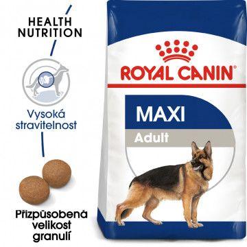 Royal Canin Maxi Adult granule pro dospělé velké psy 4kg