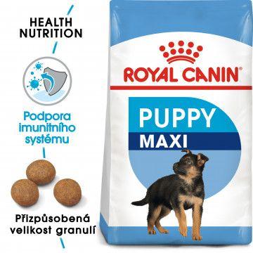 Royal Canin Maxi Puppy granule pro velká štěňata 4kg