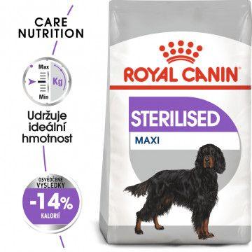 Royal Canin Maxi Sterilised granule pro kastrované velké psy 9kg