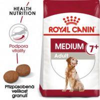 Medium Adult 7+ granule pro dospělé stárnoucí střední psy 4kg