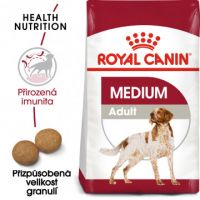 Medium Adult granule pro dospělé střední psy 15kg