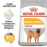 Royal Canin Medium Dermacomfort granule pro střední psy s problémy s kůží 10kg
