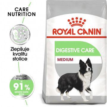 Royal Canin Medium Digestive Care granule pro střední psy s citlivým trávením 10kg