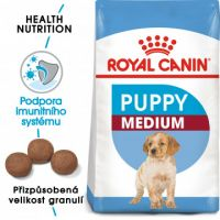 Royal Canin Medium Puppy granule pro střední štěňata 15kg