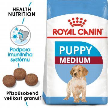 Royal Canin Medium Puppy granule pro střední štěňata 4kg