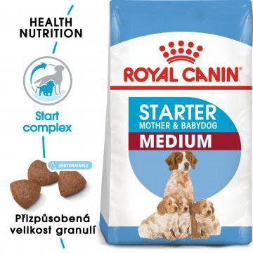 Royal Canin Medium Starter Mother&Babydog granule pro březí nebo kojící feny a štěňata 1kg