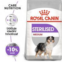 Medium Sterilised granule pro kastrované střední psy 10kg