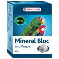 Minerální blok VERSELE-LAGA Loro Parque lisovaný grit s korály velké papoušky (400g)