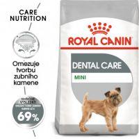 Royal Canin Mini Dental Care granule pro psy snižující tvorbu zubního kamene 8kg