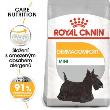 Royal Canin Mini Dermacomfort granule pro malé psy s problémy s kůží 3kg