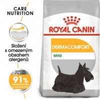 Royal Canin Mini Dermacomfort granule pro malé psy s problémy s kůží 8kg