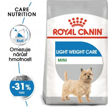 Royal Canin Mini Light Weight Care dietní granule pro psy 8kg