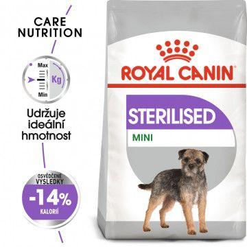 Royal Canin Mini Sterilised granule pro kastrované malé psy 1kg