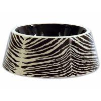 Miska DF keramická zebra 23,5x9 cm