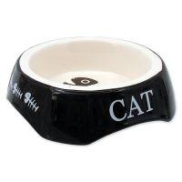 Miska MAGIC CAT potisk Cat černá (1ks)
