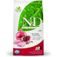 N&D GF DOG Puppy S/M Chicken & Pomegr 800g
