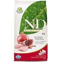 N&D Grain Free Dog Puppy S/M Chicken & Pomegr 12kg