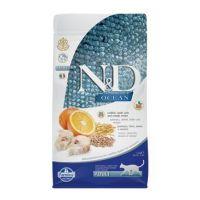 N&D OCEAN CAT LG Adult Codfish & Orange 300g