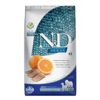N&D OCEAN DOG Adult M/L Herring & Orange 2,5kg