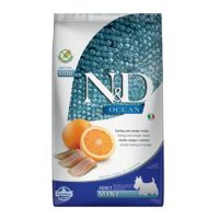 N&D OCEAN DOG Adult Mini Herring & Orange 800g