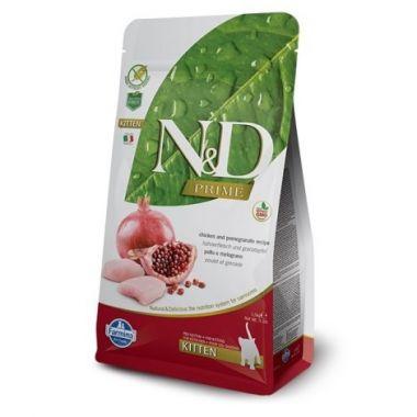 N&D PRIME CAT KITTEN Chicken & Pomegranate 1,5kg