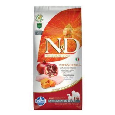 N&D Pumpkin DOG Adult M/L Chicken&Pomegranate 12kg