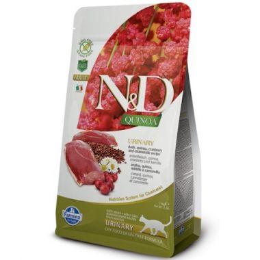 N&D Quinoa CAT Urinary Duck & Cranberry 1,5kg