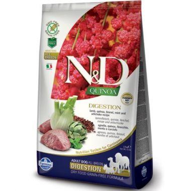 N&D Quinoa DOG Digestion Lamb & Fennel 800g