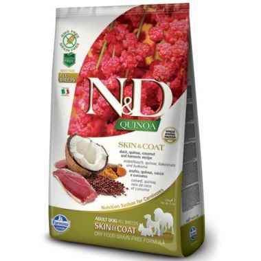 N&D Quinoa DOG Skin & Coat Duck & Coconut 800g