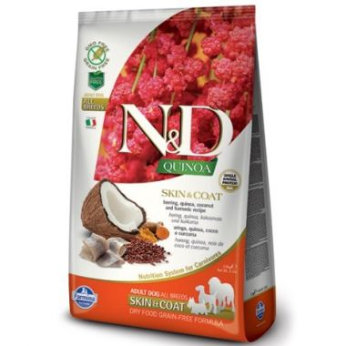 N&D Quinoa DOG Skin & Coat Herring & Coconut 800g