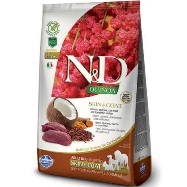 N&D Quinoa DOG Skin & Coat Venison & Coconut 800g