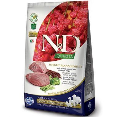 N&D Quinoa DOG Weight Management Lamb & Broccoli 800g