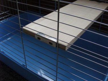 Náhradní dřevěné patro pro klec 100 x 54 cm
