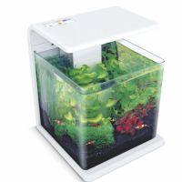 Nano akvárium biotop  De luxe 15 l  bílé