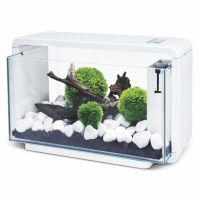 Nano akvárium biotop  De luxe 25 l  bílé